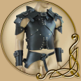 LARP Rogue Armour Basic Full Set
